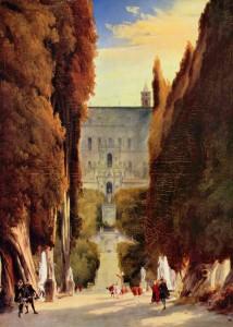 Il Parco di Villa d'Este Carl Blechen 1830